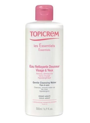 Topicrem Cleansing Water Face & Eyes 500 ml