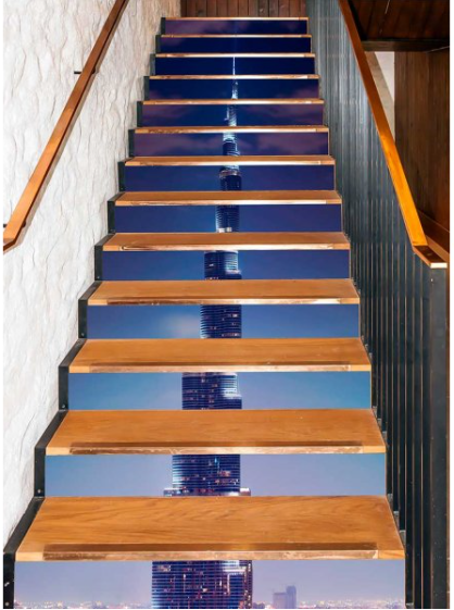 Picture of Stair Decoration No.7