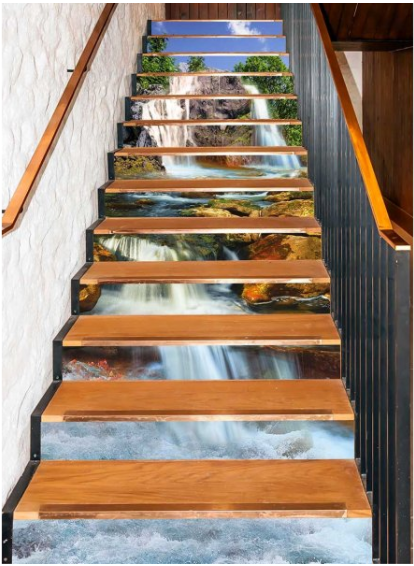 Picture of Stair Decoration No.8