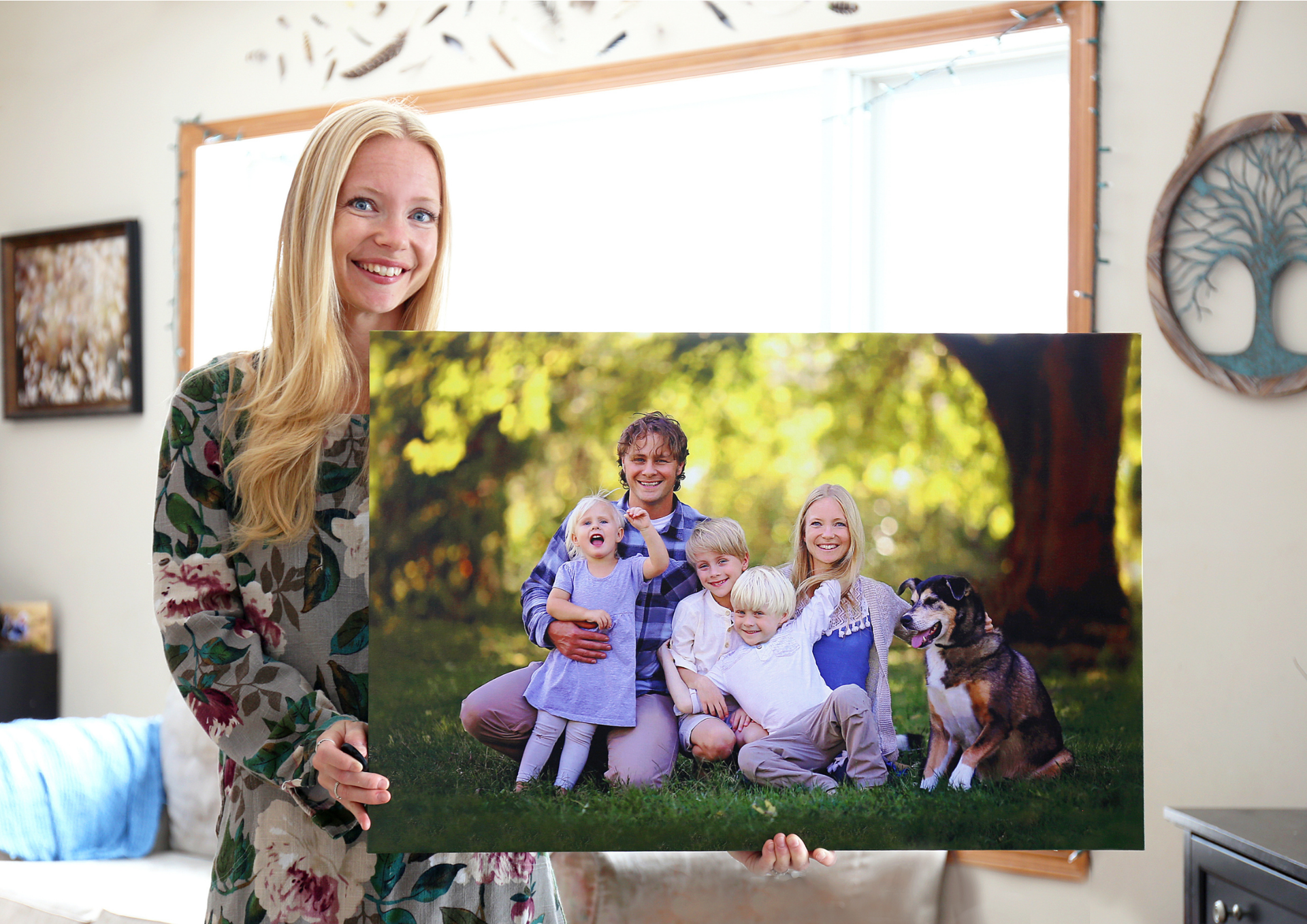 Picture of Create Your Own Canvas Print